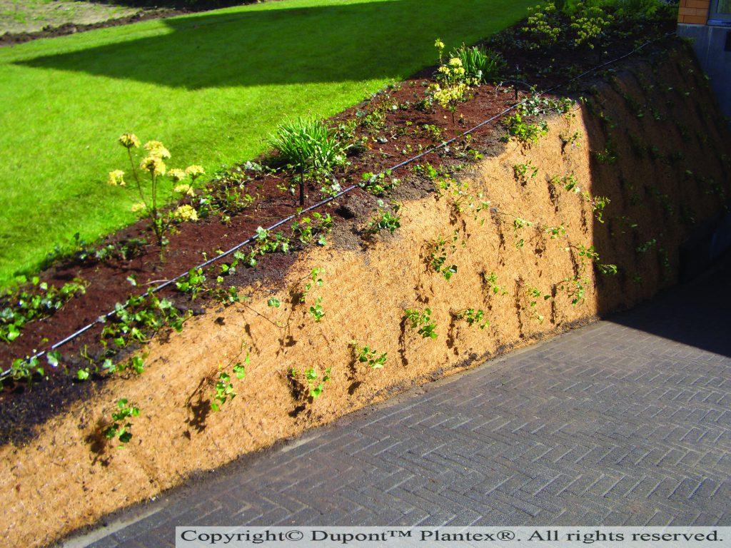 Paillis Noix De Coco plantex cocomat (540 g/m²)